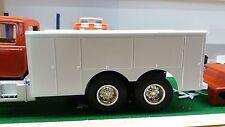Model semi truck  utility body  1:24 1:25 scale model Diorama