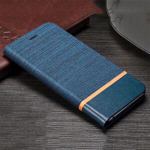 Pour-Samsung-Galaxy-J6-J4-Plus-2018-Housse-de-Luxe-Slim-Clapet-Pied-Cuir-PU-Etui