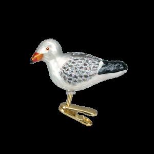 Old-World-Christmas-SEA-GULL-18037-N-Glass-Ornament-w-OWC-Box