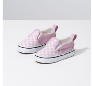 11ff961474 Details about VANS Toddlers Checkerboard Slip-On V Lilac Snow /True White  Free Shipping