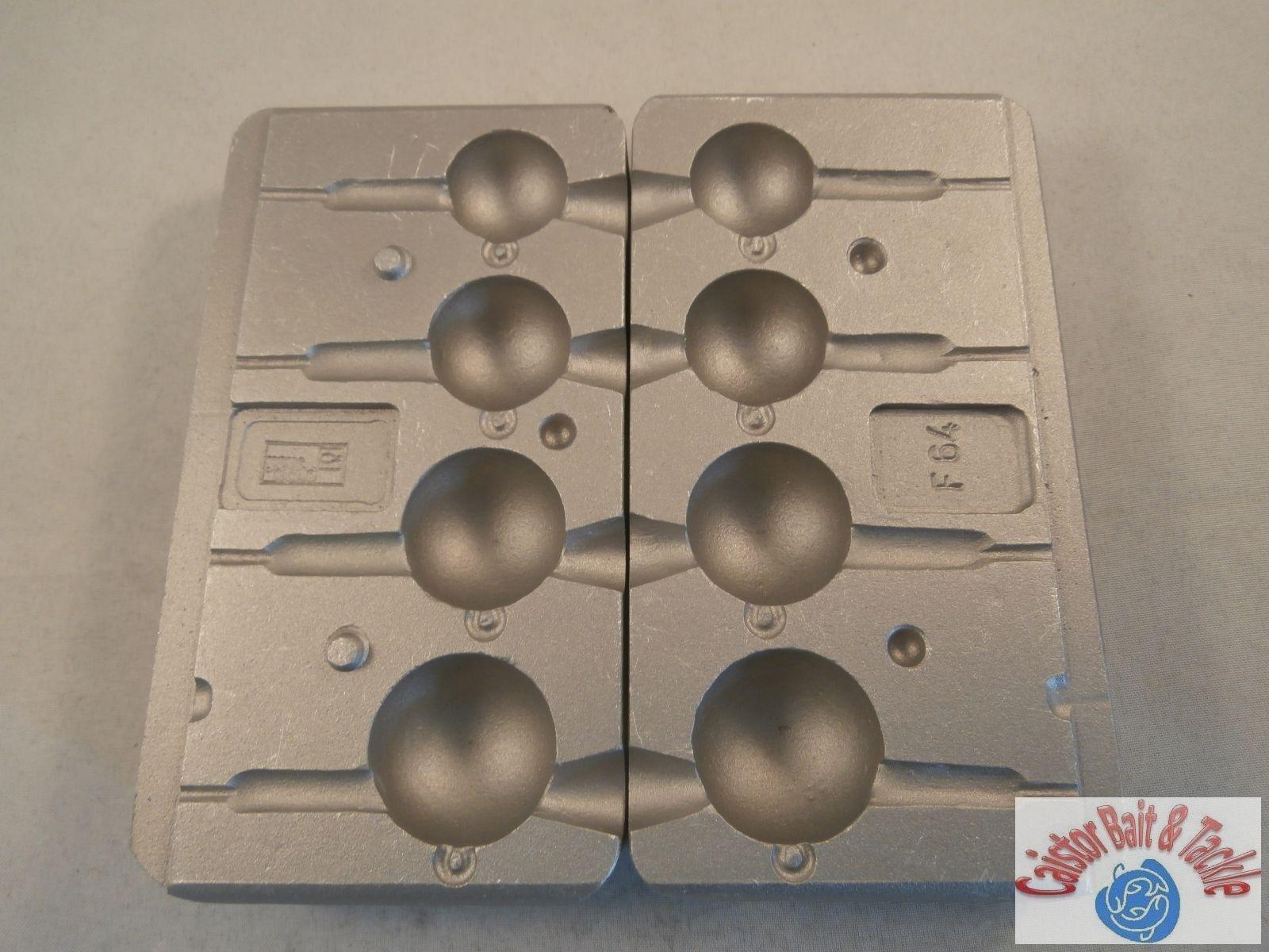 PALLA PALLA PALLA esca da pesca x 4 Lures VMC maschera di inserimento hooks5150 SIZE 5/0 e 6/0 5a815d