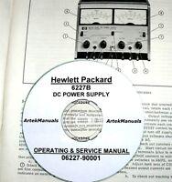 Hp 6227b Power Supply Operator & Service Manual