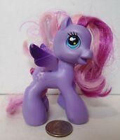 My Little Pony Hasbro 2008 G3 Starsong Purple Vinyl Toy Pegasus Horse Pink Hair