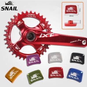 SNAIL-Bike-Chainring-Botls-Single-Speed-24mm-17mm-CNC-Chainwheel-Crankset-Screws