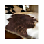 WHITE-Black-REAL-MONGOLIAN-FUR-TIBETAN-SHEEPSKIN-LAMBSKIN-HIDE-PELT-FUR-THROW thumbnail 12