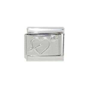 White cat enamel Italian Charm fits 9mm classic Italian charm bracelets