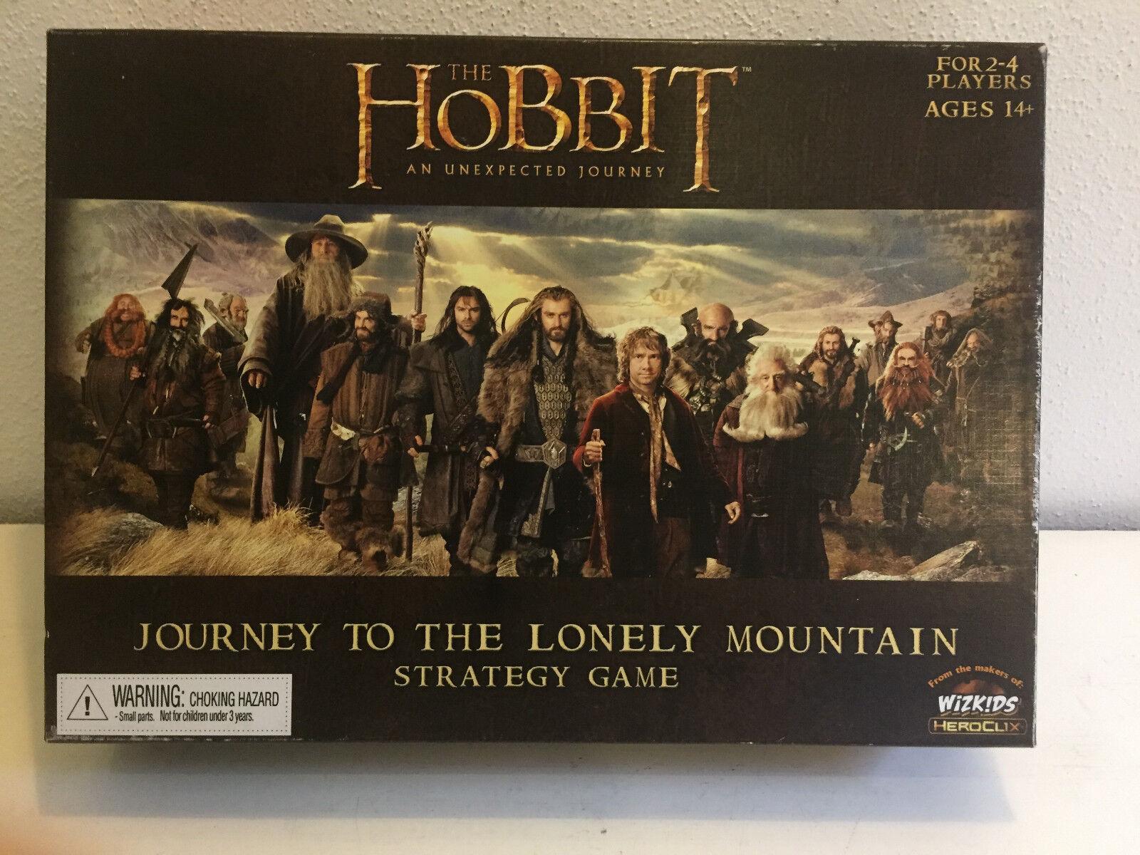 The Hobbit An unexpected Journey Wizkids Strategy Game Strategiespiel neuwertig