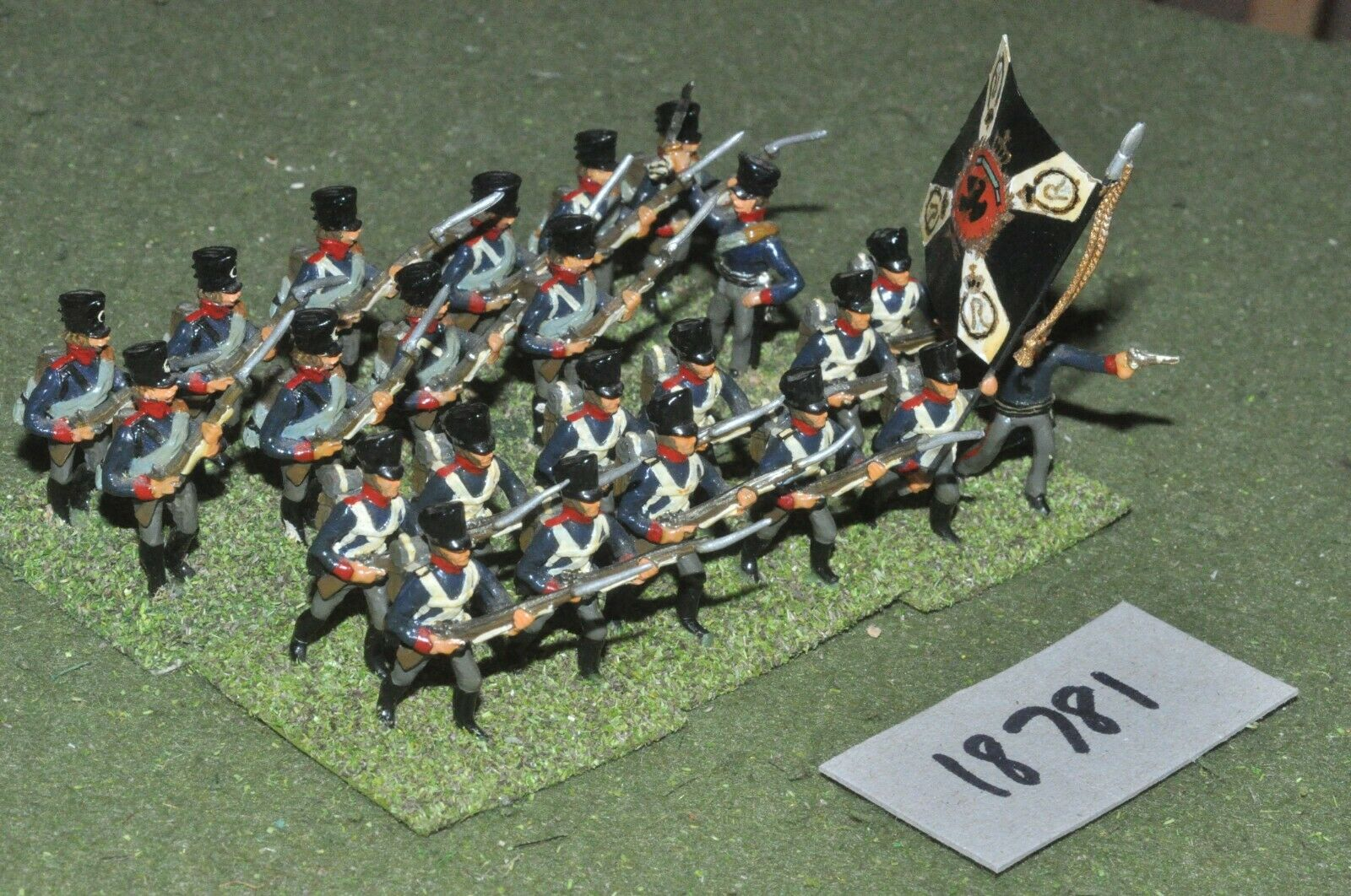 25mm Infantería Napoleónicas Prusia - 24 figuras-INF (18781)