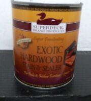 Duckback 25023 Exotic Hardwood Walnut Stain/sealer, 1qt, Free Shipping