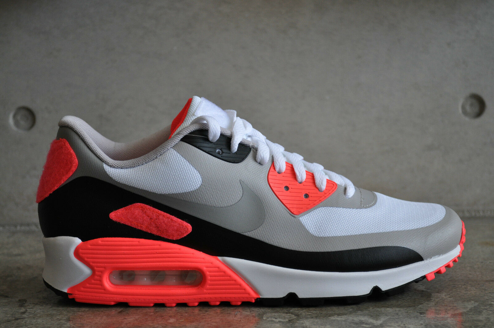 Nike Air Max 90 Infrared OG Patch - White Infrared-Cool Grey