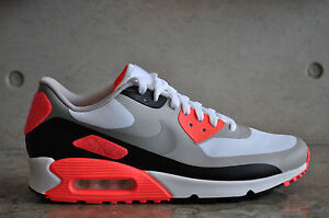 watch 4af42 6a35e Image is loading Nike-Air-Max-90-Infrared-OG-Patch-White-