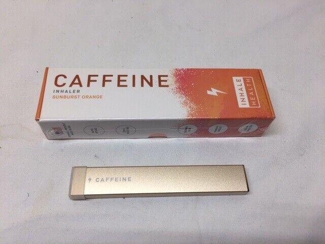 2x Inhale Health Caffeine Inhaler Orange 400 Breaths ...