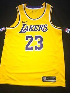 2c7c47689f2e Image is loading Lebron-James-Icon-Edition-Swingman-Jersey-Lakers-Size-