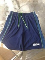 Seattle Seahawks NFL Adult Men's Shorts, Size Large, New With Tags