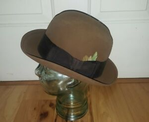 2bbc7310bdf48 NWT New old stock Vintage Carmody Knox New York Felt Fedora Hat in ...