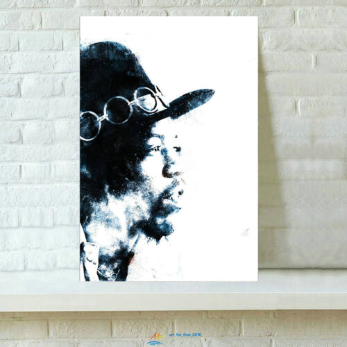 HD Printed Jimi Hendrix Oil Painting Home Wall Decor Art On Canvas 16x24inch