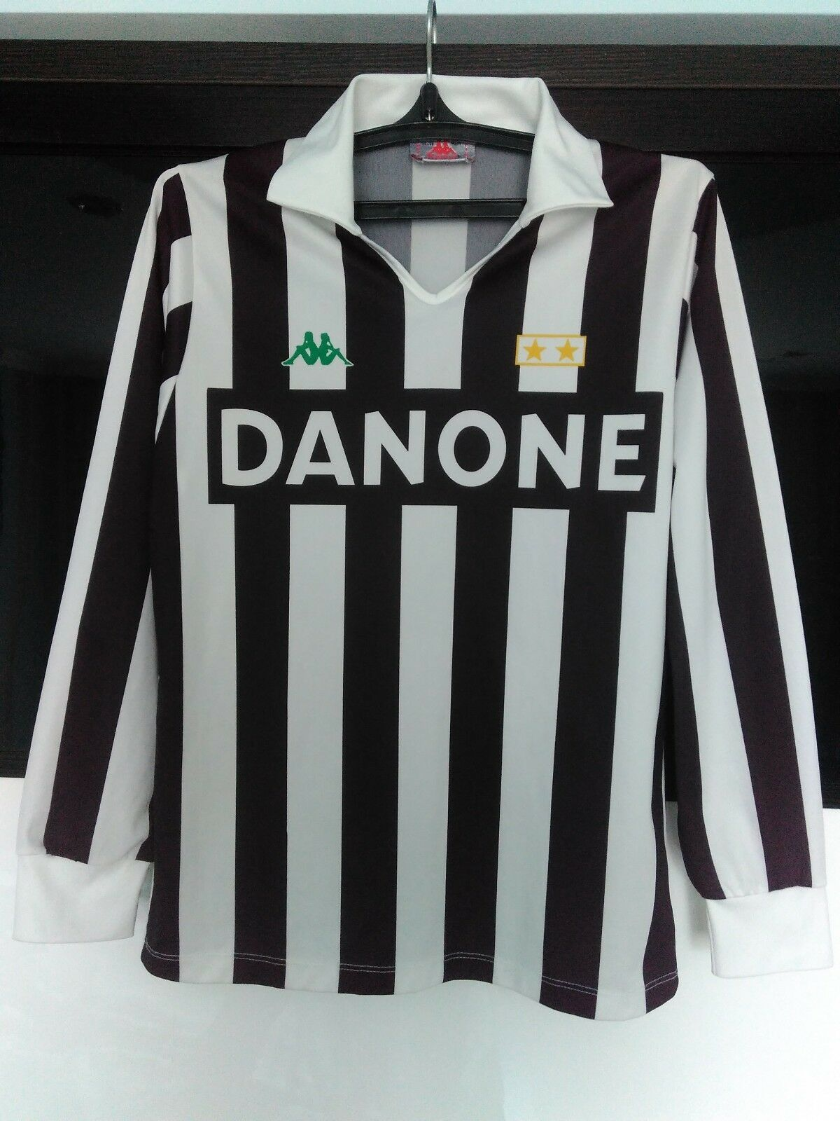 Juventus 1992 - 1994 home shirt jersey long sleeves Größe S Roberto Baggio   10