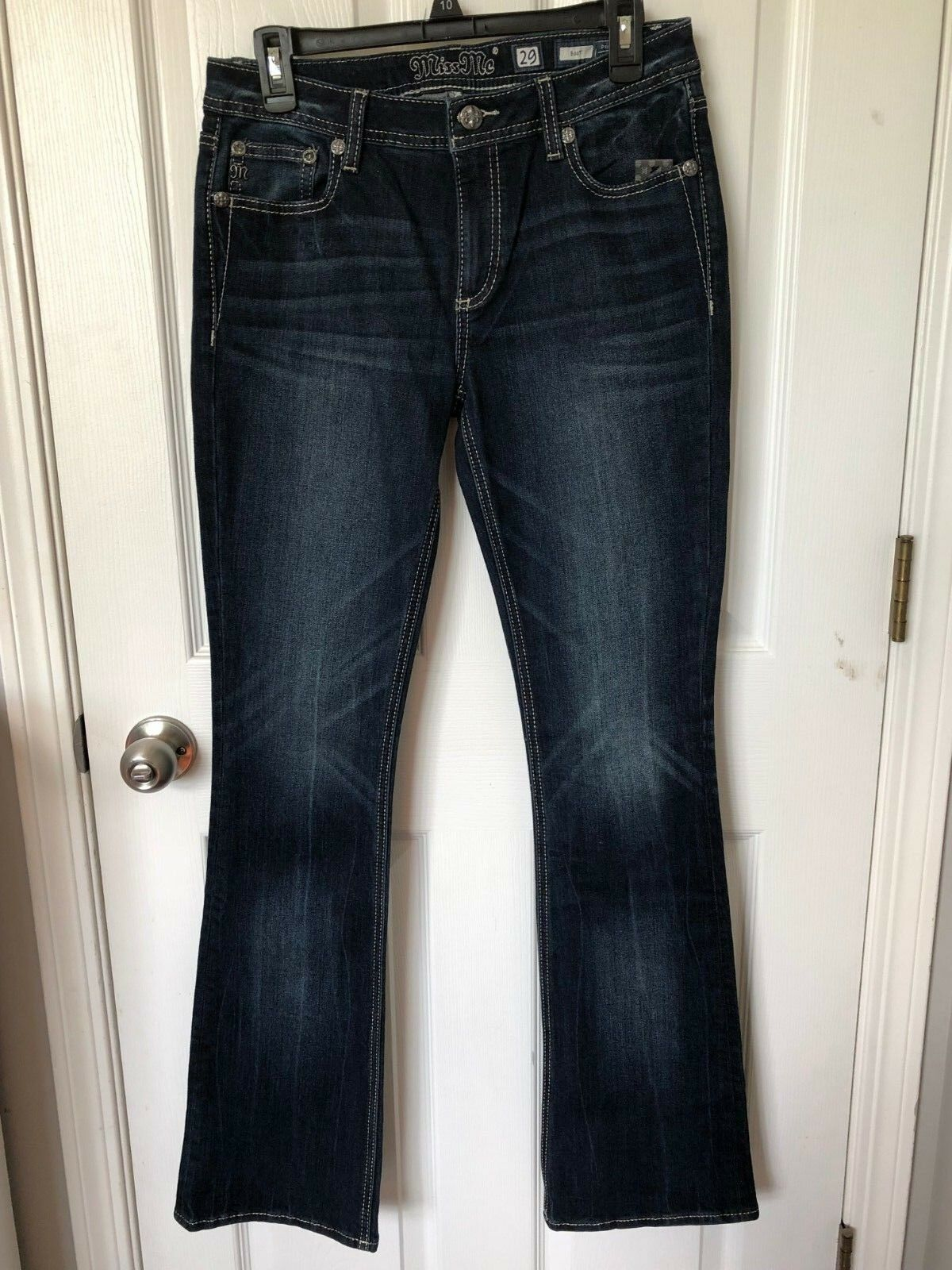 MISS ME Women's Boot Cut Jean Size 29 New with tag