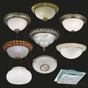 Plafonnier-de-Verre-Chrome-Laiton-Blanc-Plafonnier-or-Lampe-Suspension