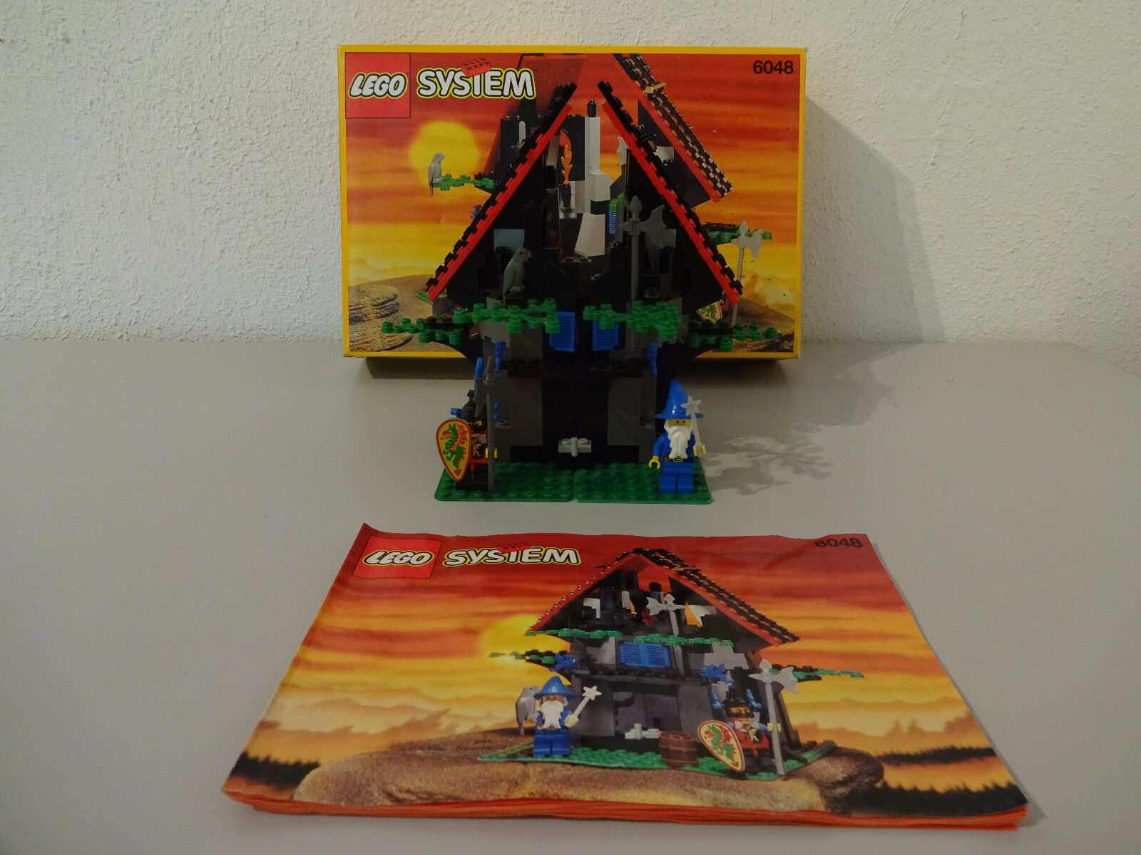 (GO)LEGO (GO)LEGO (GO)LEGO SYSTEM 6048 MAJISTO'S MAGICAL SHOP WITH & BA 100% COMPLETE USED 2754b5