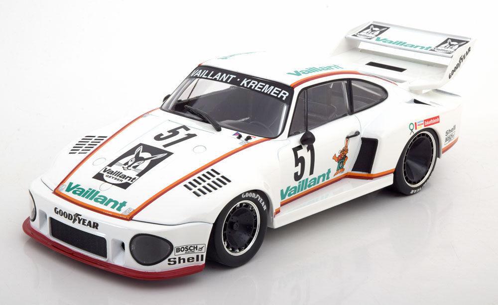 Precio al por mayor y calidad confiable. Norev Norev Norev 1977 Porsche 935 Vaillant Drm Zolder Wollek  51 1 18New artículo   precioso