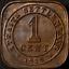 Straits-Settlements-1919-1-Cent-KM-32-VF miniatuur 2