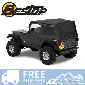 Bestop-Replace-A-Top-88-95-Jeep-Wrangler-YJ-Half-Door-Skins-Tinted-Black-Denim