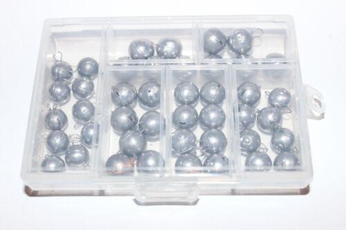 Cheburashka 43 Stück Set 9-15g in Box Wechselblei Jig Kugelblei cheburaschka
