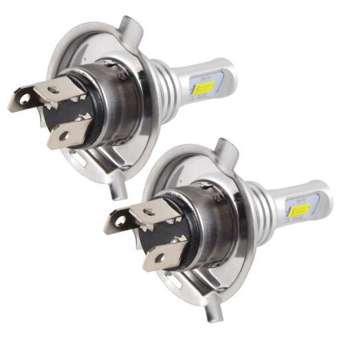 H4 9003 For Suzuki Vstrom DL1000 02-09 DL650 04-09 CSP LED Headlight Bulbs 100W