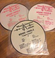 3x Böhse Onkelz  - Lügenmarsch Picture-Disc LP (Vinyl, Sammlung)