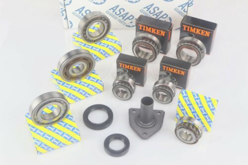 Citroen Lancia Fiat Peugeot BE3 BE4 Gearbox Bearing /& Oil Seal Rebuild Kit