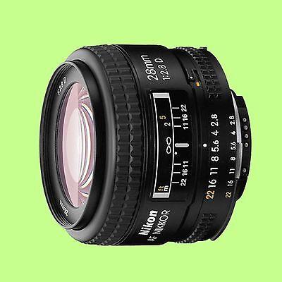 Brand New Nikon Nikkor 28 mm F/2.8 D AF Lens 28mm