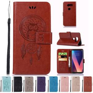 For-LG-K30-K10-2018-V30-Q8-Flip-Leather-Wallet-Case-Card-Holder-Stand-Cover