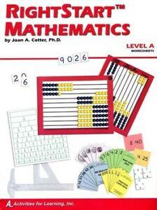 Rightstart-Mathematics-Level-A-Worksheets-1st-Edition