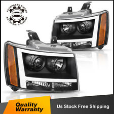 For 07 14 Chevy Suburbantahoe Led Drl Projector Headlights Headlamps Assembly Fits 2007 Chevrolet Suburban 1500