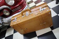 Nostalgischer Koffer Autokoffer Lederkoffer Oldtimer 60cm wunderschön  1703
