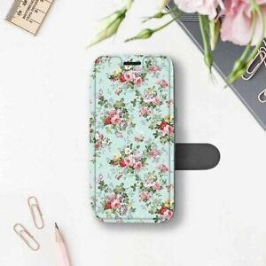 newest 265a3 7beb2 Details about Floral iPhone 7 8 Plus Sleeve Flowers iPhone 6 6s Wallet Case  iPhone 7 8 Cover