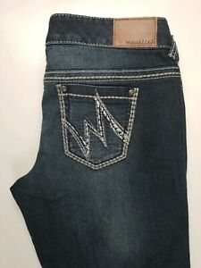 Maurices-Straight-Stretch-Womens-Jeans-Sz-5-6-Reg
