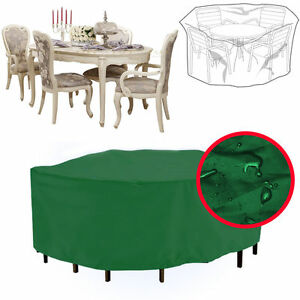Durable Waterproof Green Garden Large Oval Patio Furniture