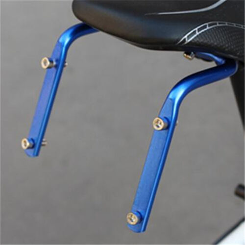 Bicycle Cycling Seat Post Back Double Water Bottle Holder Cage Rack Adapter RS