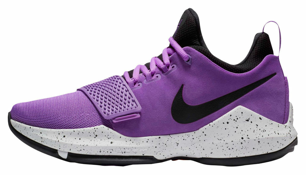 Nike Hombres PG 1 Paul George Bright 10 Violet Negro 878627-500 Talla 10 Bright a57384