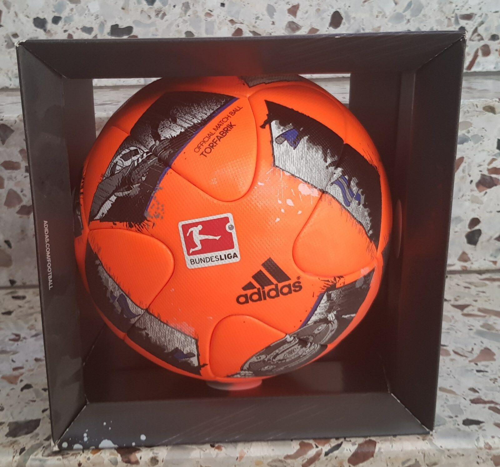 2 x adidas match match match ball torfabrik 2016 17 juego pelota de fútbol globo Soccer Pallone ada71f