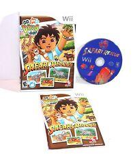 Wll NK JR GO DIEGO GO SAFARI RESCUE (Nintendo Wii, 2008)