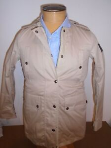 Belstaff-Georgina-Parka-Regency-Trench-Jacket-euro-size-40-US-6-1095-Khaki-Tan