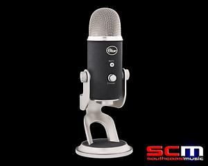 Blaue Mikrofone YETI PRO USB Mikrofon Ultimate USB Podcasting Mic YETIPRO