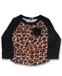 Baby Long Sleeve Leopard Jumpsuit Romper Leopard Rose Warm hat Cap 2P Set NB-12M