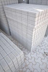 betonpflaster pflastersteine hakalit rechteck 10 20 8 grau pflaster sonderposten ebay
