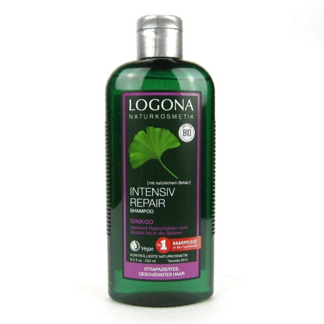 (2,64/100ml) Logona Intensiv Repair Shampoo Ginkgo vegan 250 ml