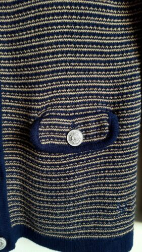 seta donna navy misto blu da Cardigan in marrone wWTqanxEp4