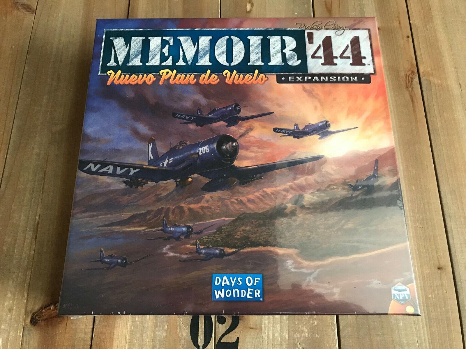 Juego wargame - Memoir ´44 Nuevo Plan de Vuelo - EDGE - DAYS OF WONDER - WWII